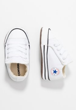 Converse - CHUCK TAYLOR ALL STAR CRIBSTER MID - Krabbelschuh - white/natural ivory