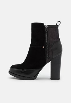 G-Star - LABOUR ZIP - High Heel Stiefelette - black