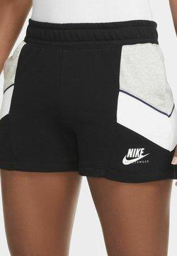 Nike Sportswear - Funktionsshirt - black/grey heather/white/white