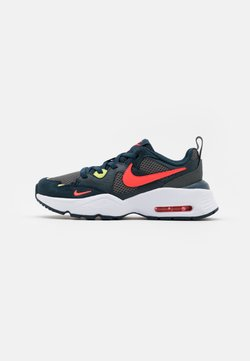 Nike Sportswear - AIR MAX FUSION UNISEX - Sneakers laag - deep ocean/bright crimson/iron grey/limelight