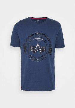 Alpha Industries - AUTHENTIC VINYL  - T-shirts print - new navy