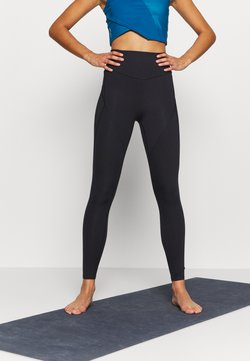 Puma - STUDIO PORCELAIN ULTRA RISE FULL - Tights - black