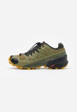 Salomon - SPEEDCROSS 5 GTX - Zapatillas de trail running - martini olive/peat/arrowwood