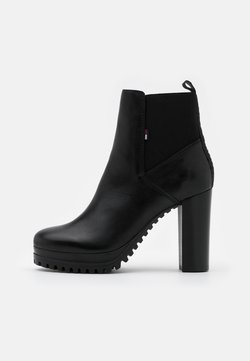 Tommy Jeans - ESSENTIAL CLEATED - High Heel Stiefelette - black