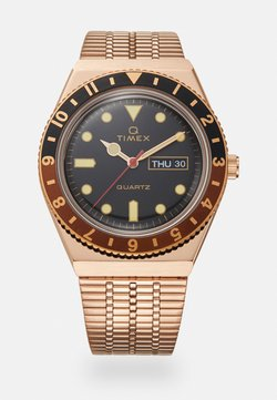 Timex - Q DIVER UNISEX - Montre - rose-gold-coloured/black