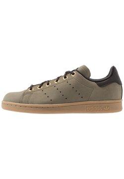 adidas Originals - STAN SMITH - Sneaker low - trace cargo/mesa/night brown
