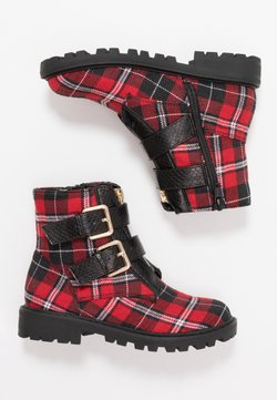 River Island - Stiefelette - red