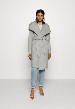 ONLY - ONLNEWPHOEBE DRAPY COAT - Classic coat - light grey melange