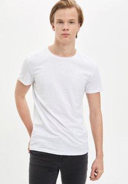DeFacto - T-shirt basique - white