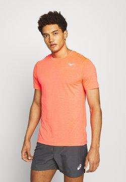 Mizuno - IMPULSE CORE TEE - Camiseta básica - ignition red