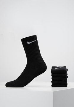 Nike Performance - EVERYDAY CUSH CREW 6 PACK - Träningssockor - black/white