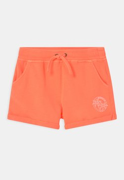 Cars Jeans - PEARL  - Shorts - neon orange