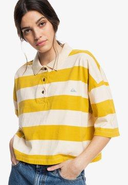 Quiksilver - Poloshirt - lemongrass modern day