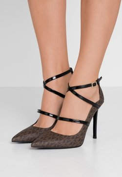 MICHAEL Michael Kors - GENEVA  - High Heel Pumps - brown/black