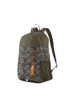 Puma - STYLE BACKPACK UNISEX - Reppu - forest night-camo aop