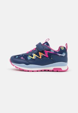 Geox - PAVEL GIRL - Sneaker low - navy/multicolor
