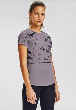 Under Armour - T-Shirt print - slate purple