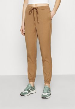 ONLY - ONLREGIE STRING SMOCK PANT - Jogginghose - toasted coconut