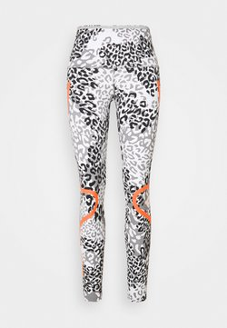 adidas by Stella McCartney - TRUEPACE - Tights - white/ash/black