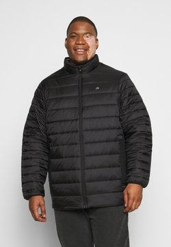 Calvin Klein - LIGHT WEIGHT SIDE LOGO JACKET - Winterjacke - black