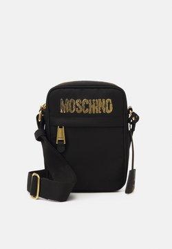 MOSCHINO - SHOULDER BAG UNISEX - Olkalaukku - black