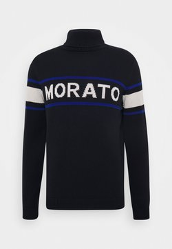 Antony Morato - TURTLE COLLAR WITH FRONT  - Trui - ink blu
