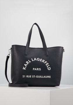 KARL LAGERFELD - RUE GUILLAUME TOTE - Shopping Bag - black