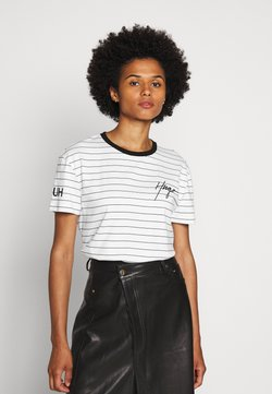 HUGO - DORINITA - T-Shirt print - white
