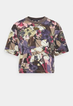 Nike Sportswear - FEMME  - T-Shirt print - ironstone