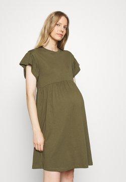 ONLY - OLMMAY NEW LIFE CUTLINE DRESS - Vestido ligero - olive night
