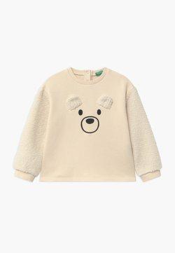 Benetton - FOREST FRIENDS  UNISEX - Sweater - off-white