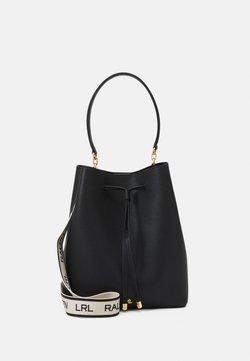 Lauren Ralph Lauren - CLASSIC PEBBLE DEBBY - Handtasche - black