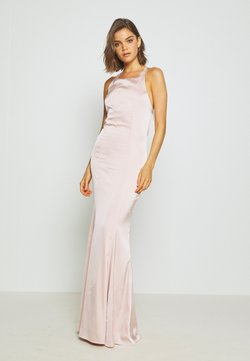 Nly by Nelly - RITZY FRINGE GOWN - Occasion wear - champagne