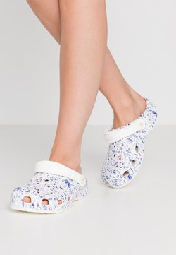 Crocs - CLASSIC LIBERTY GRAPHIC - Chaussons - white