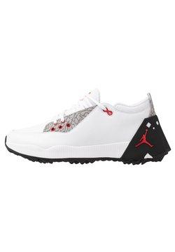 Nike Golf - JORDAN ADG 2 - Golfschuh - white/university red/black