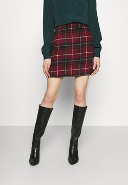 New Look - DUDLEY BRUSHED CHECK MINI - A-Linien-Rock - multi
