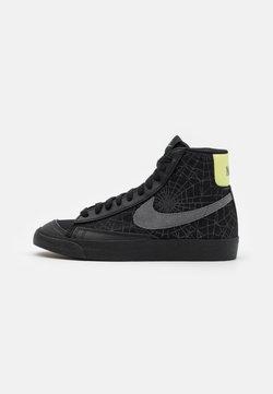 Nike Sportswear - BLAZER MID '77 UNISEX - High-top trainers - black/universe gold/metallic silver/sail/white