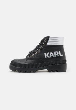 KARL LAGERFELD - TREKKA  - Snørestøvletter - black