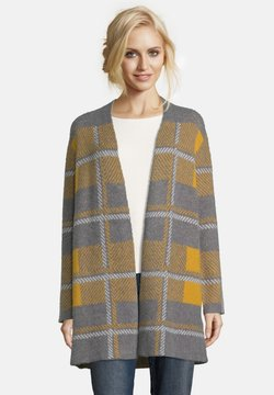Betty Barclay - Strickjacke - yellow/grey
