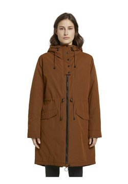 TOM TAILOR DENIM - Parka - burnt hazelnut brown