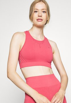 ONLY Play - ONPJAVO CIRCULAR BRA - Sujetador deportivo - holly berry