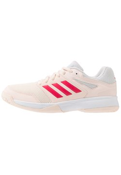 adidas Performance - SPEEDCOURT - Handball shoes - pink tint/footwear white/power pink