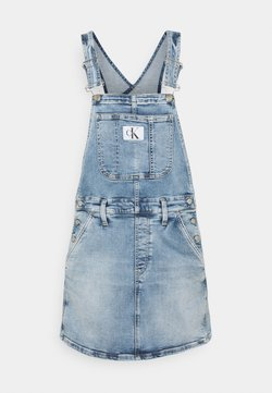 Calvin Klein Jeans - DUNGAREE - Denim dress - denim light