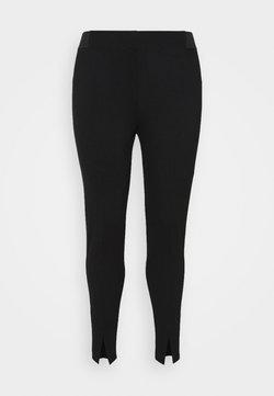 Zizzi - JCARINA CROPPED - Leggings - Trousers - black