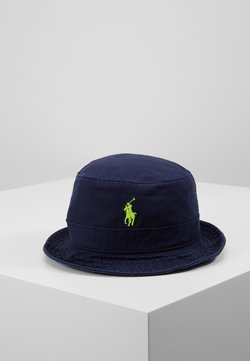 Polo Ralph Lauren - CHINO BUCKET HAT - Hoed - navy/neon