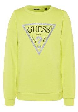 Guess - JUNIOR CORE - Sweatshirt - shiny light green