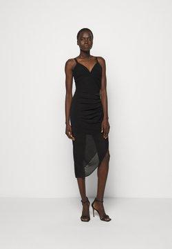 Hervé Léger - CAMISOLE DRAPED DRESS - Cocktail dress / Party dress - black
