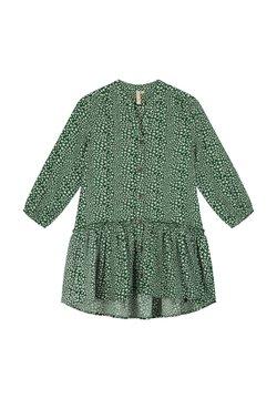 Shiwi - TUVALU DROP WAIST - Blusenkleid - hunter green