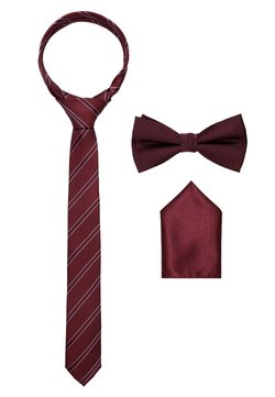 Jack & Jones - JACNECKTIE GIFT BOX - Einstecktuch - port royale