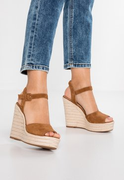ALDO - YBELANI - Sandales à talons hauts - light brown